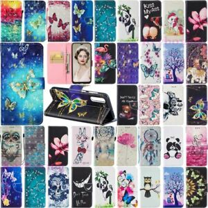 For Samsung Galaxy A50 A40 A30 A20 A10 A70 M30 Leather Wallet Phone Case Cover