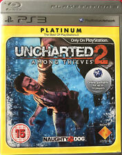Uncharted 2 Among Thieves PS3 Playstation 3 Platinum