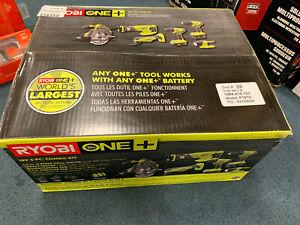 Ryobi P1819 18V ONE+ Cordless 6-Tool Combo Kit