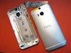 COVER GUSCIO CHASSIS ORIGINALE per HTC ONE M8 RETRO RICAMBIO IN METALLO FRAME