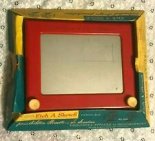 vintage 50S/60S ETCH-A-SKETCH (NO 505) TOY GAME kelton corp PETER AUSTIN CANADA