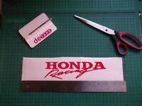 Honda..Racing... vinyl decal sticker .....x2
