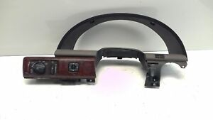 OEM LINCOLN LS 00- 02 Instrumental Cluster Cover Trim W/ Headlight Switch