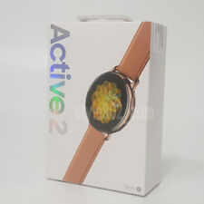 Original SAMSUNG GALAXY Watch Active2 Stainless Steel 44mm SM-R820 - Gold