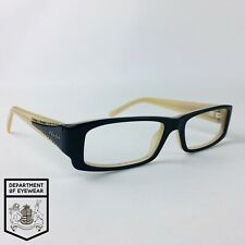 PRADA eyeglasses BLACK RECTANGLE glasses frame MOD: VPR1217OB-1O1