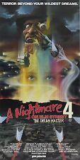 1988 A Nightmare on Elm Street 4 Movie High Quality Metal Fridge Magnet 3x6 9751