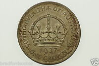 1937 One Crown George VI in Uncirculated Condition