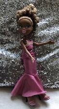 Bratz HTF Sasha Pupz Doll With Curlly Dark Blond Afro Type Hair - Redressed