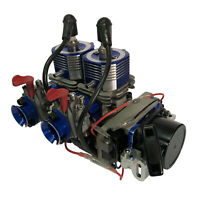 58CC Water-cooled 2-Cylinder Gasoline Engine For RC Boat Model