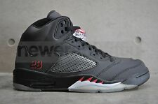 Nike Air Jordan 5 Retro-black/varsity Rojo 3m Toros Pack