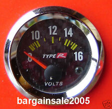 "Type R 2""/ 52MM Volt / Voltage Gauge Meter HQ tacho"