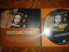 """Cold Case Files Emmy DVD 1 Episode """"THE SUNDAY MORNING SLASHER""""  FORENSIC A&E CH"""