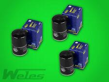 3 x SM111 Ölfilter AUDI 80 B3 B4 90 100 200 A3 A4 B5 B6 1,6 1,8 2,0 A6 A8 TT