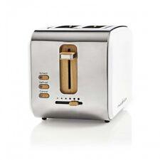 Design Retro Toaster Bagel Muffin WEISS