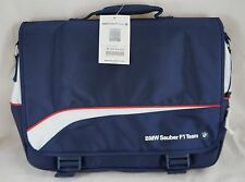 NEW BMW Sauber F1 Team Notebook Carry Case Computer Laptop Bag # 80 30 0 418 370