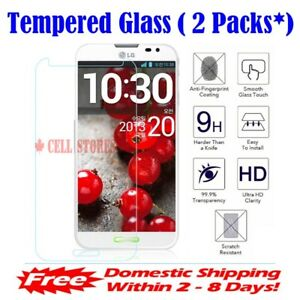 (1/2 Pks) HD Premium Tempered Glass Screen Protector for LG Q Stylo 2 3 4 Plus