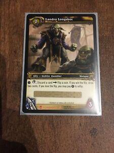 World of Warcraft TCG Azeroth Loot Card (WoW) Landro Longshot Unused Code