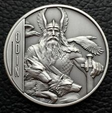 Odin 2 oz Double-Sided Ultra High Relief Silver Coin $5 Niue Low Mintage 750
