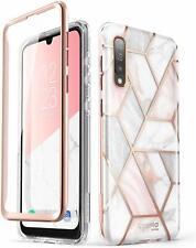 i-Blason Cosmo Case for Samsung Galaxy A50 Marble Phone Cover Screen Protector