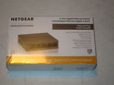 Netgear 5 Port Gigabit Ethernet Switch Gs305- Soho Switch series, Nos
