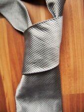 @ René Lezard @ Krawatte blau-silber 100% Seide - wie NEU Vintage
