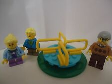 Lego Minifigures 2 Kids, Merry Go Round, &Grandpa *New Condition* Free Shipping*