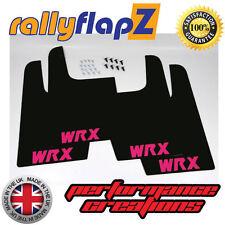 Rallyflapz SUBARU IMPREZA WRX STI universal (versión 1) Negro WRX ROSA 3mm PVC