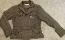 Ladies O'Neill Brown Cotton Jacket Medium