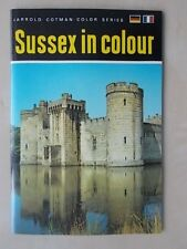 THE COTMAN-COLOR BOOK SERIES - SUSSEX IN COLOUR - TOURIST GUIDE 1964