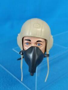 ACTION MAN German LUFTWAFFE Pilot HELMET Mask UNIFORM 1970s PALITOY GI Joe