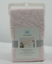 Changing Pad Cover Pink Leaves - Cloud Island - Pink New