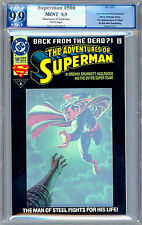 ADVENTURES OF SUPERMAN #500 PGX 9.9 *MINT* DEATH OF SUPERMAN JERRY ORDWAY 1993