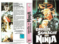 (VHS) Die größte Schlacht der Ninja - Alexander Lou, George Chang, Charles Wong