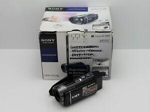 SONY HANDYCAM HDR-CX130E CAMCORDER BOXED SDXC CARD HD HIGH DEFINITION DIGITAL