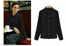 Chiffon Career Unbranded Machine Washable Tops & Blouses for Women