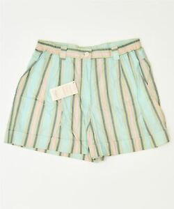 SILVY Womens Chino Shorts IT 48 XL W34 Multicoloured Cotton Classic KQ02