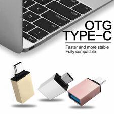 Lot 2 Adaptateur USB 3.1 / 2.0 Vers Type C OTG 3.0 A connecteur femelle