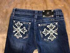 Miss Me Jeans Size 29 Mid-rise Boot