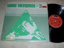 WHO / HENDRIX #3 *MEGARARE NEW ZEALAND PRESSING*POLYDOR 2484010*