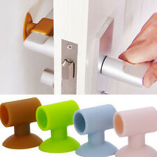 Wall protector fits on door handle bumper guard DIY Noise Stopper Silencer