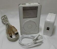 Apple iPod 5 GB White for Windows 1st Generation - VGC (M8541LLA)