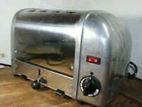 Dualit Classic 4 Slot slice Toaster 40352 - Stainless steel Chrome