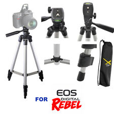 "50"" PROFESSIONAL TRIPOD WITH QUICK RELEASE FOR CANON EOS REBEL T3 T3I T4 T5 T6"
