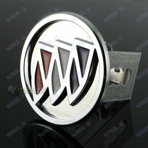 """Chrome StainlessSteel For Buick Hitch Cover Cap Plug For 2"""" Trailer Tow Receiver"""