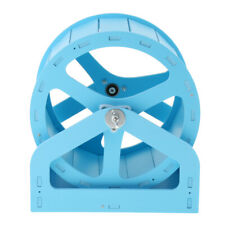 Hamster Cage Play Toys Exercise Wheel Silent Jogging Running Toys Blue