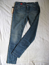 Miss Sixty Blue Jeans Stretch Denim W30/L34 low waist slim fit tapered leg