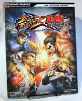 Street Fighter X Tekken Strategy Guide Hint Book Brady Games PS3 XBox 360 Capcom
