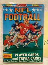 1989 Score Football Pack 🔥 Barry Sanders Rookie Troy Aikman RC PSA 10?