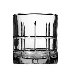Anchor Hocking Manchester Rocks Old Fashioned Whiskey Glasses, 10.5 oz ,Set of 4