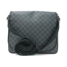 Authentic LOUIS VUITTON DAMIER GRAPHITE DANIEL MM N58029 #260-002-519-7433